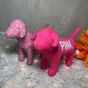 Vicotoria's Secret Pink Stuffed Toy Dog